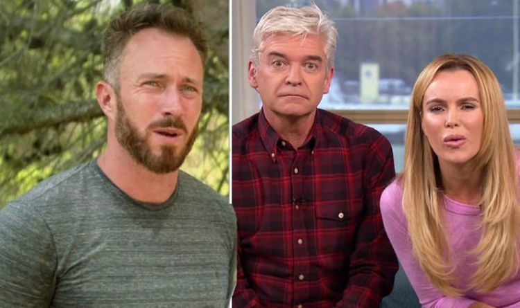 James Jordan hits out at 'jealous people' amid Phillip Schofield and Amanda Holden 'rift'
