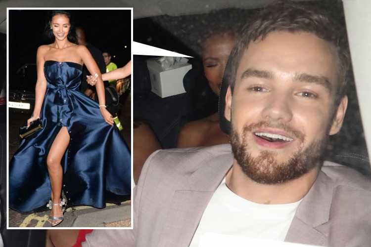Maya Jama and Liam Payne share a cab and Tanya Burr avoids an awkward run in with ex Jim Chapman as they leave boozy Serpentine summer party