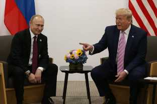 Trump Joked With Putin About Russia's Interference In US Elections Because LOL, It's Funny Right?