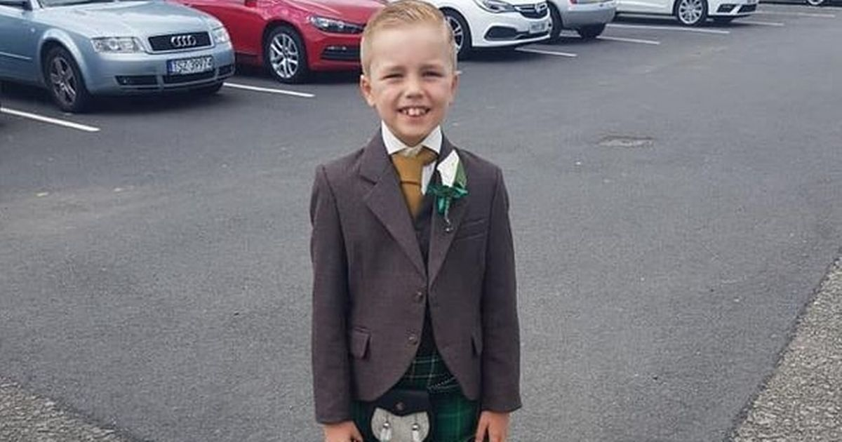 Boy, 7, tells of 'first time mummy and groom had a sleepover' in wedding speech