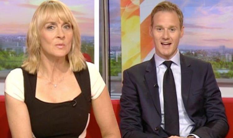 BBC News:'What a fool' Louise Minchin silences Dan Walker after injury jibe