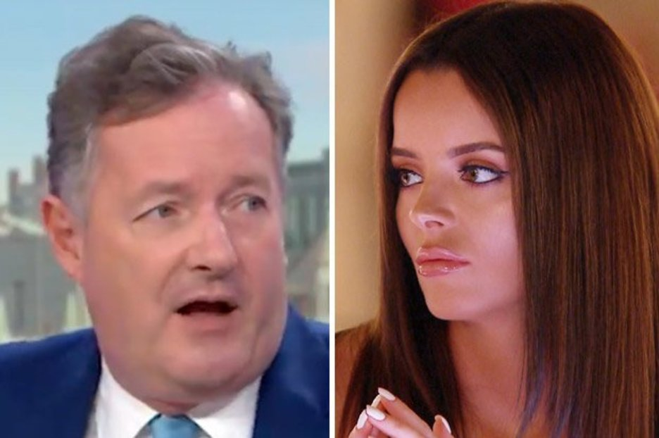 Piers Morgan suggests Love Island's Maura 'attacks men' and 'should be jailed'