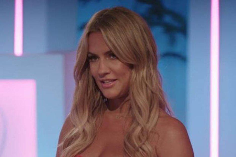 Caroline Flack stuns in world's shortest dress for Love Island return