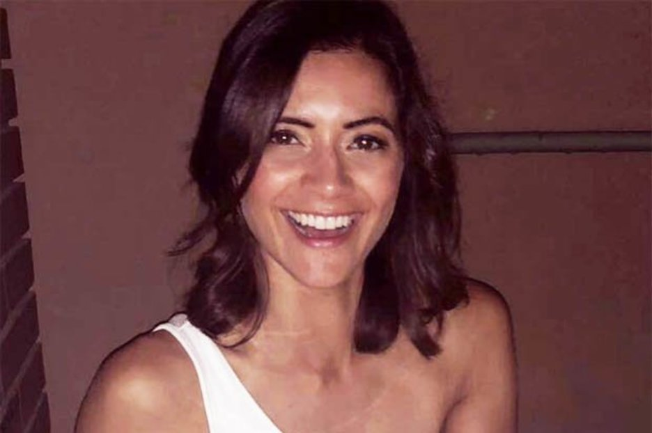 GMB babe Lucy Verasamy flashes jaw-dropping figure in plunging dress