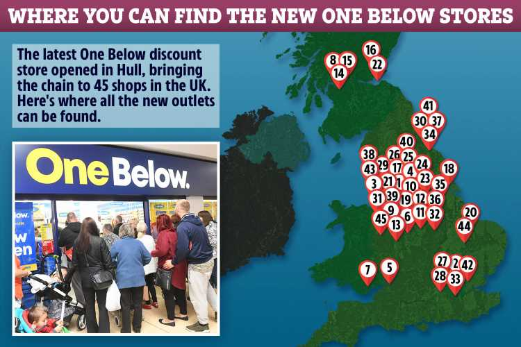 There's a new discount chain opening across the UK where everything costs below £1