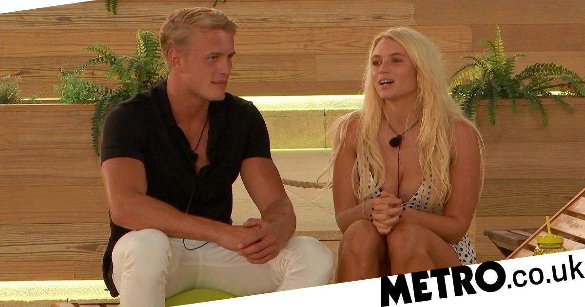 Love Island's Dennon claims Lucie is being used by George to get into the villa