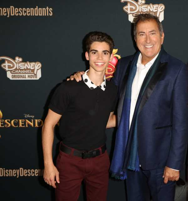 Cameron Boyce Honored During Kenny Ortega's Walk Of Fame Ceremony With His Family In Attendance