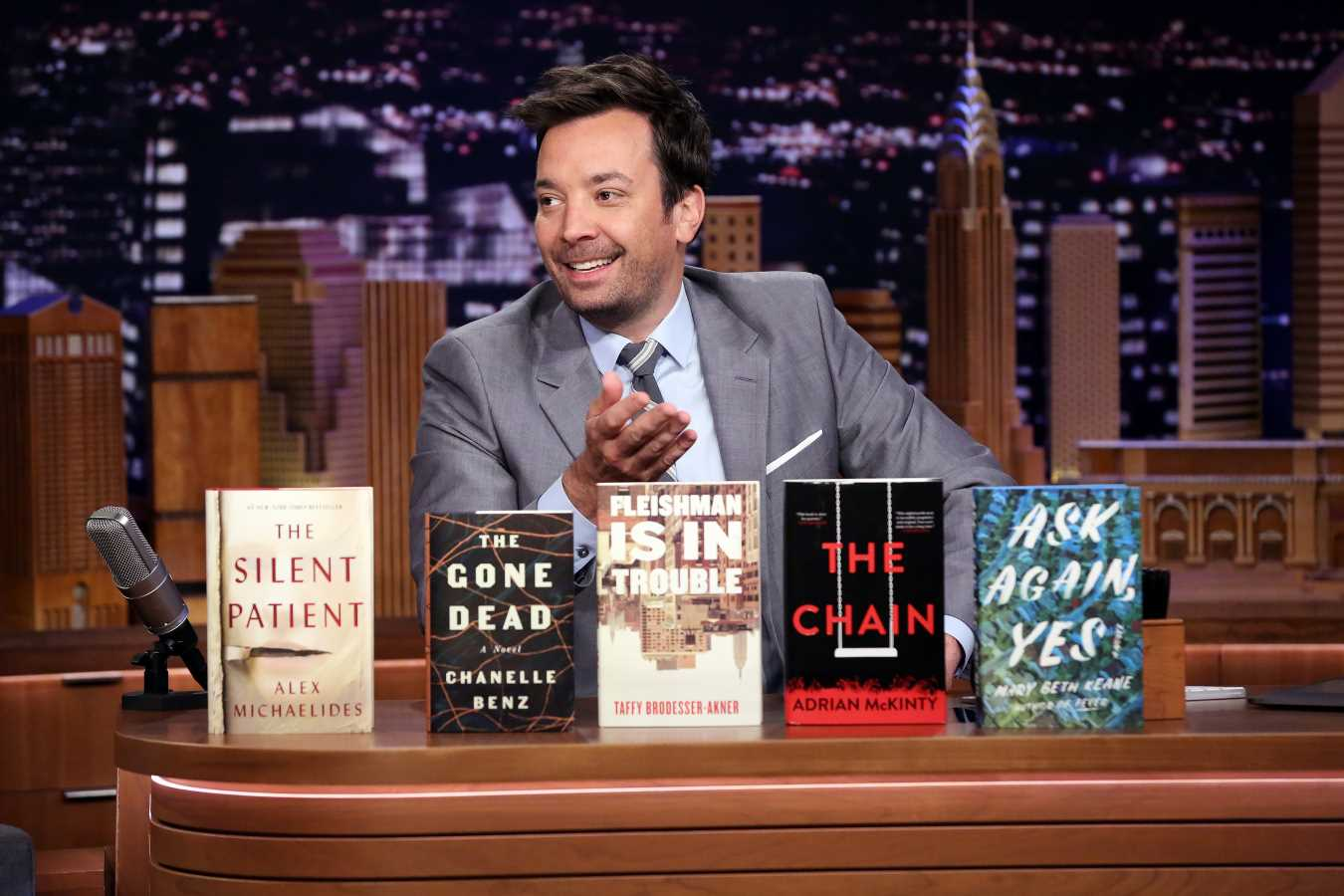 Jimmy Fallon Is Kicking Off His Summer Book Club — and Needs You to Vote on Your Favorite Novel