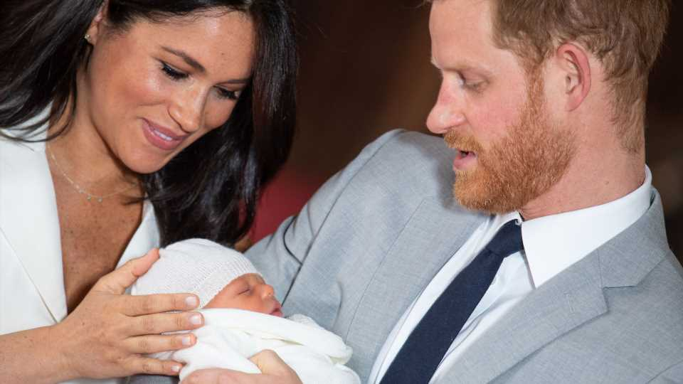 Did Prince Harry Pass Down His Signature Red Hair to Baby Archie?