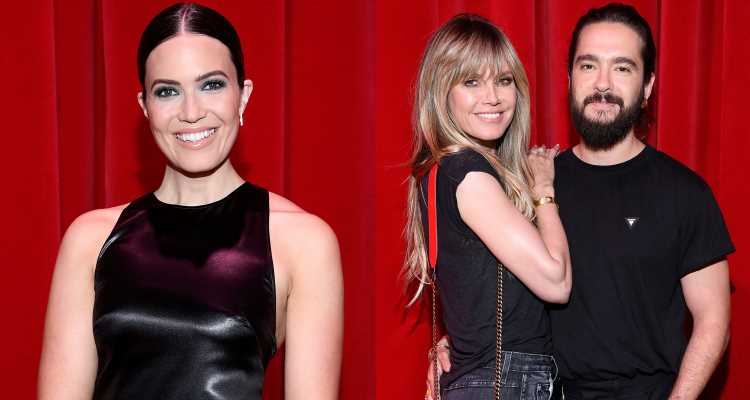 Mandy Moore, Heidi Klum & Tom Kaulitz Step Out for Louboutin Express Paris Presentation!