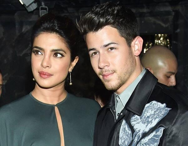 Nick Jonas & Priyanka Chopra Sit Front Row at Dior's Star-Studded Show