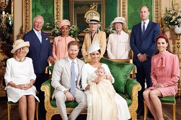 The Official Christening Photos Of Archie Harrison Mountbatten-Windsor Are Adorable