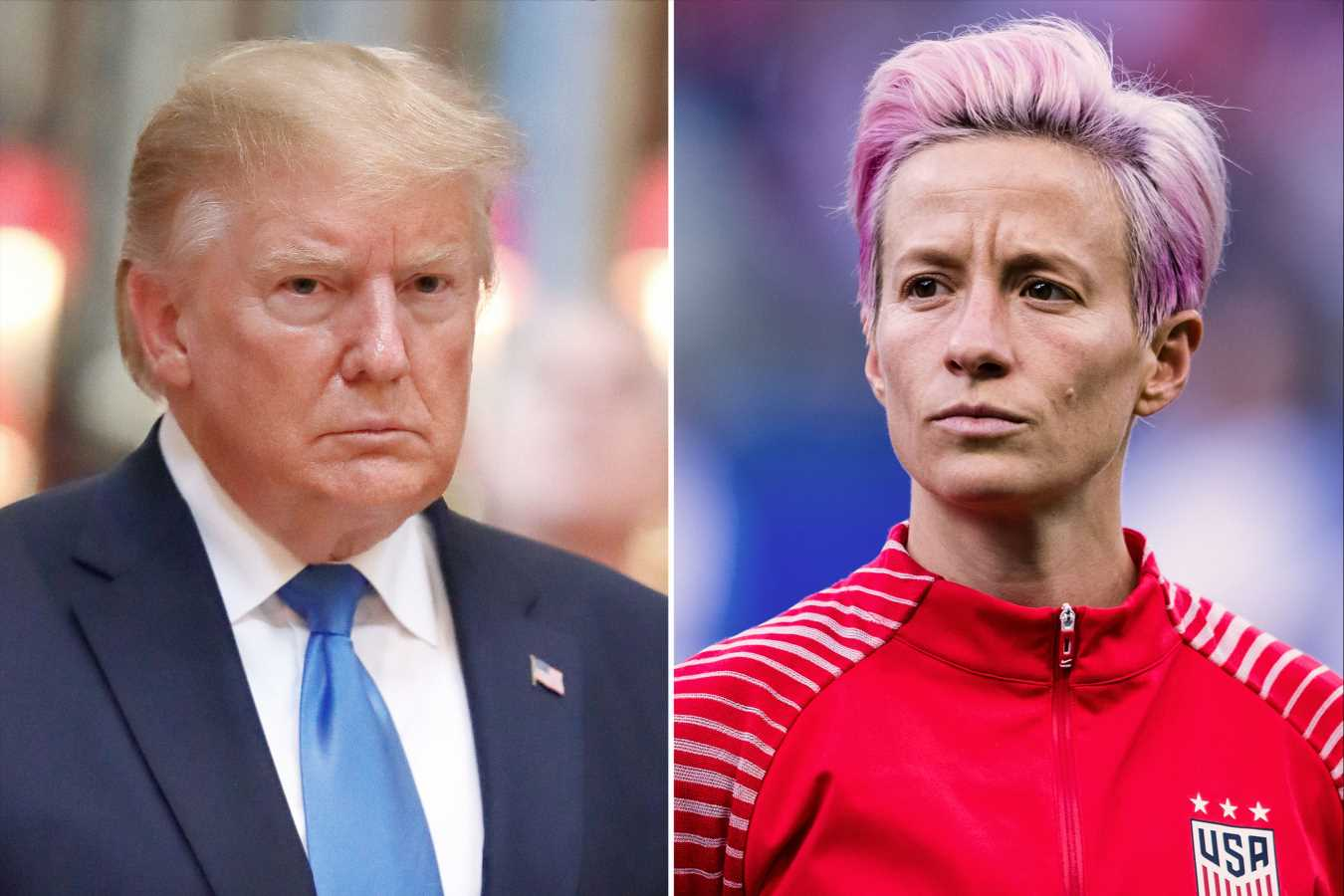 Megan Rapinoe Slams President Trump After World Cup Win: 'Your Message Is Excluding People'