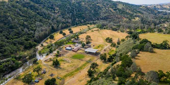 A massive California ranch that may be the biggest piece of land for sale in the state is on the market for $72 million — here's a look inside