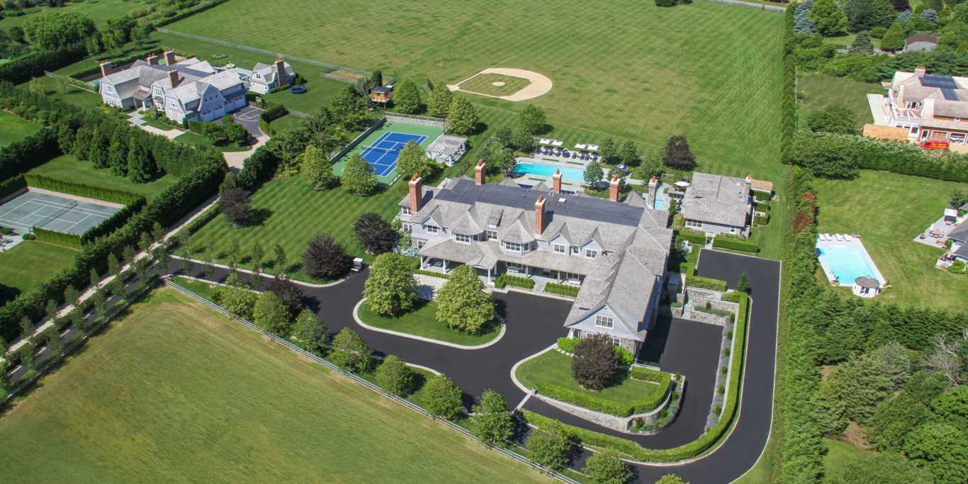 The most expensive rental in the Hamptons costs $1 million per month — and it includes a private spa and a baseball field. Take a look inside.