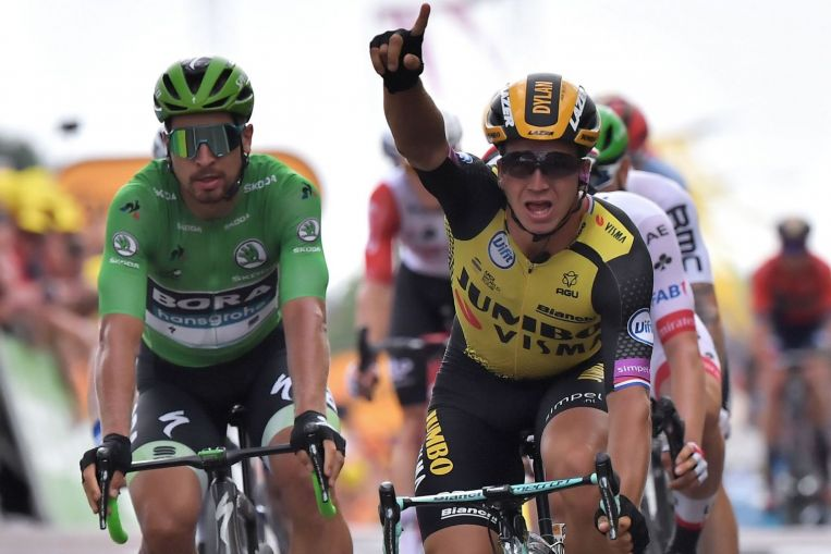 Cycling: Groenewegen wins Tour de France stage seven, as Ciccone retains yellow jersey