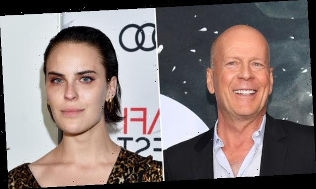Bruce Willis Just Shaved Daughter Tallulah's Head For An At-Home Photo Shoot