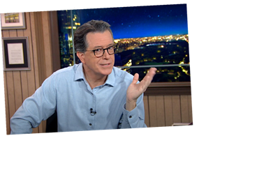 Stephen Colbert Nails Why Biden May Have A Hard Time Reading Trump's Briefings