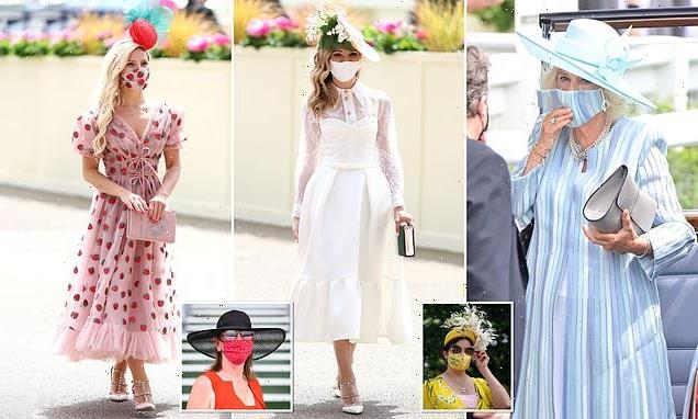 Matching masks are this year's must-have accessory at Royal Ascot