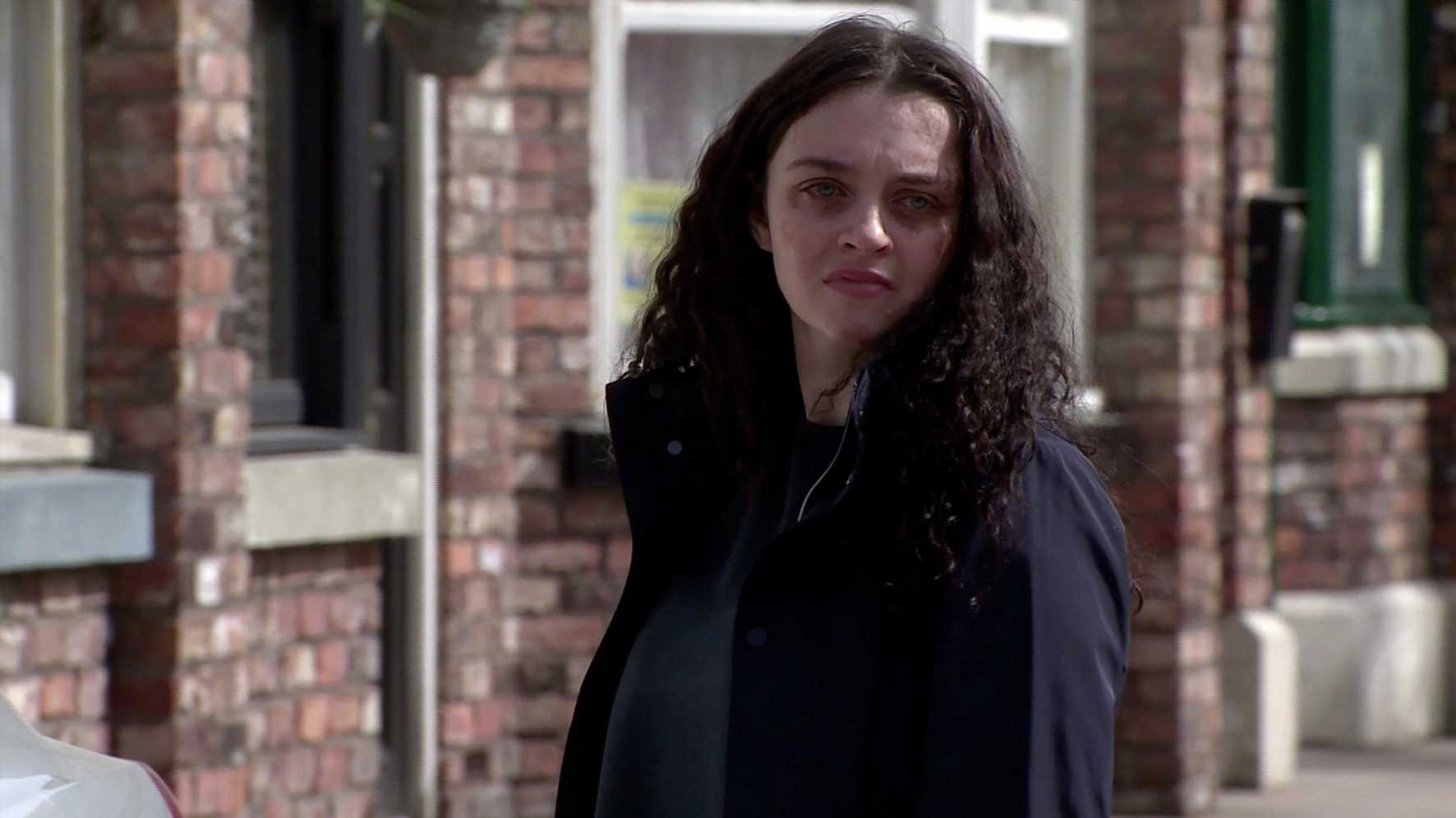 Coronation Street spoilers: Nina Lucas falls apart as she prepares to relive Seb Franklin's murder at the trial