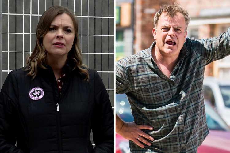 Coronation Street spoilers: Steve McDonald finds proof wife Tracy Barlow is having an affair with Dev Alahan