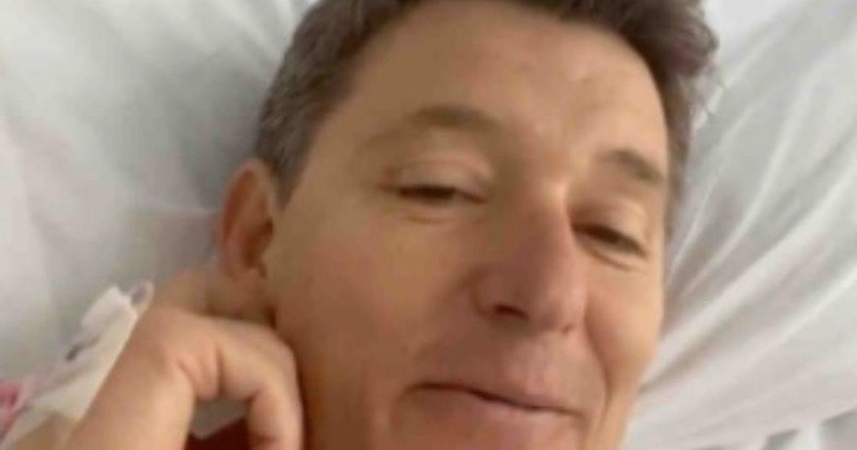 GMBs Ben Shephard gives health update from hospital bed after knee operation