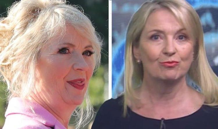 I'm in trouble Carol Kirkwood apologised to BBC Breakfast editor for viral slip-up