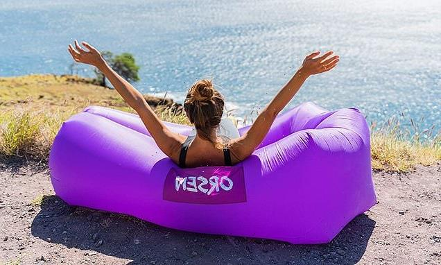 'Like lying on a cloud': This Amazon inflatable air lounger is on sale