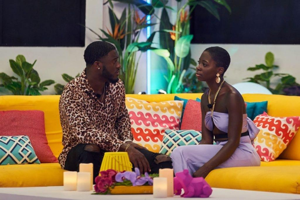'Love Island': Cash Admits to Trina Casa Amor Could Make Things 'Easier' and End Their 'Throuple'
