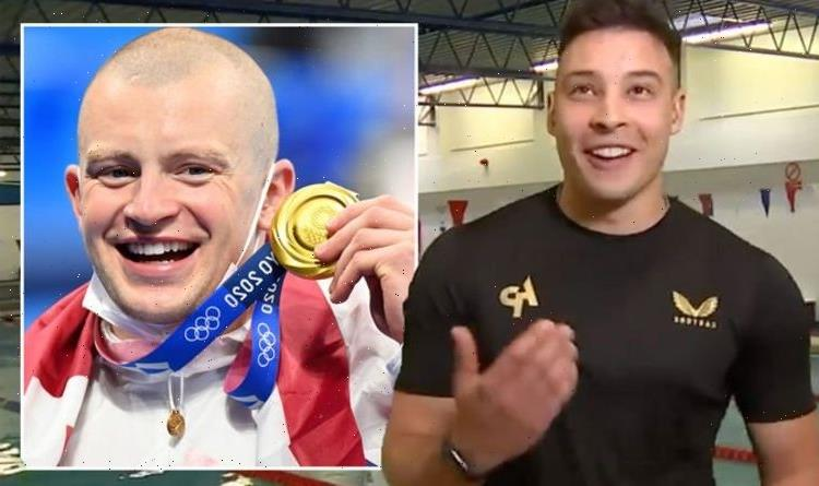Trying not to cry Adam Peaty training partner fights back tears in emotional GMB chat