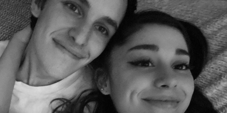 Ariana Grande Wished Husband Dalton Gomez a Happy Birthday with a Never-Before-Seen Wedding Selfie