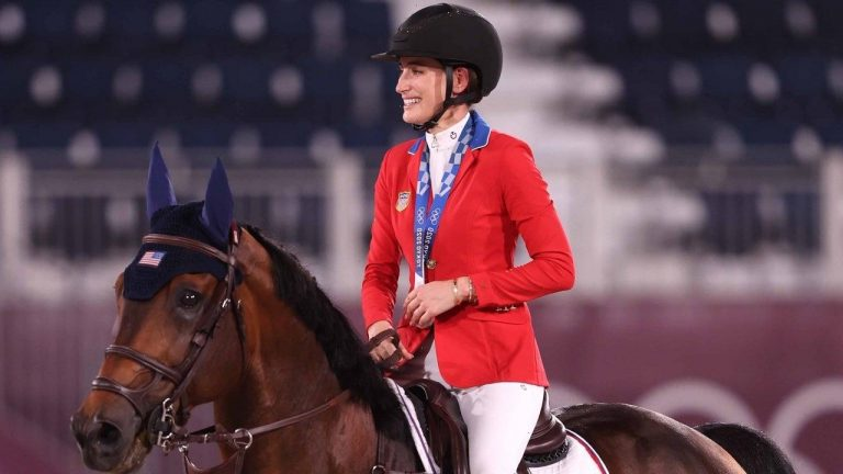 Bruce Springsteen's Daughter Jessica Wins Equestrian Silver Medal