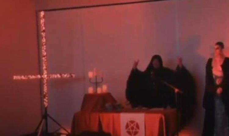 Chan-hell 4? Australian news interrupted by strange Satan worshipping ceremony – VIDEO