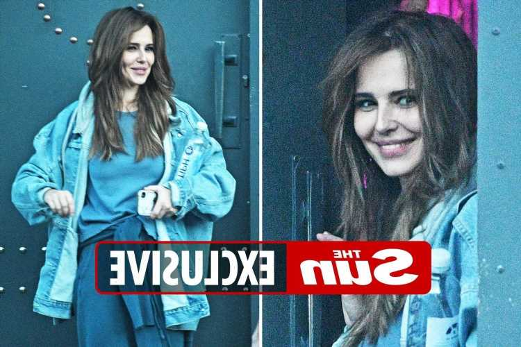 Cheryl Tweedy all smiles at rehearsals after brother reveals homelessness struggle