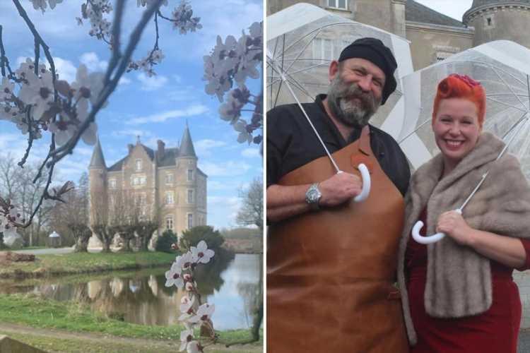Dick Strawbridge reveals REVOLTING secret behind Escape to the Chateau moat surrounding home