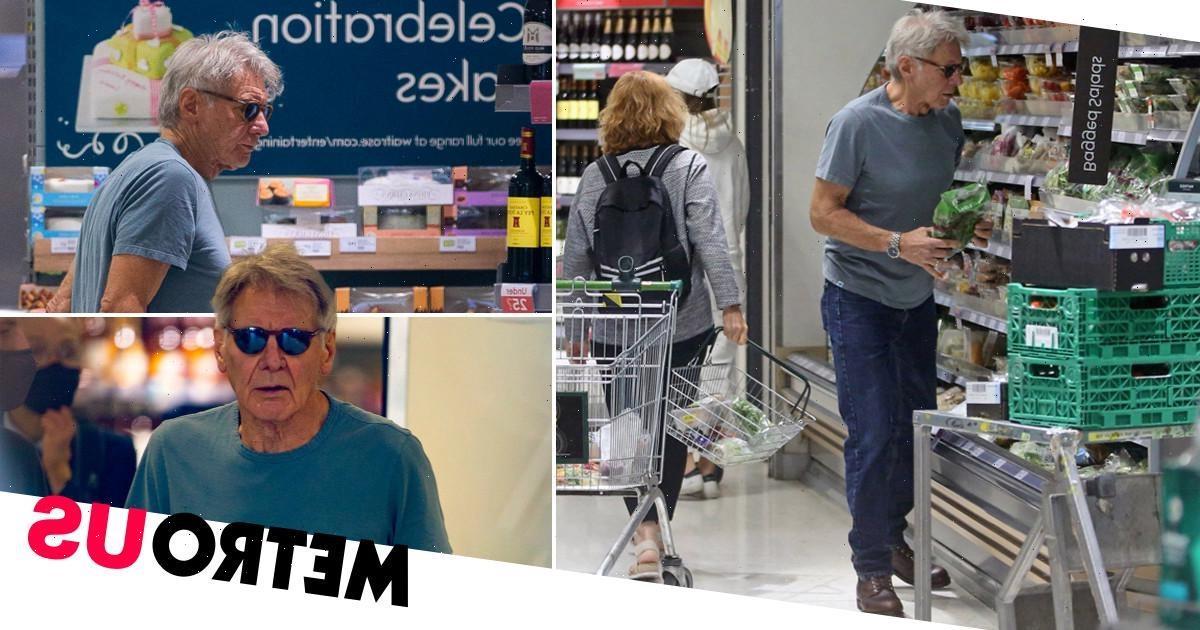 Harrison Ford goes low-key on Waitrose food shop after Indiana Jones injury