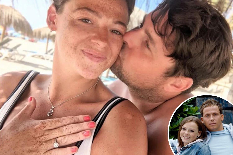 Joe Swash's EastEnders star sister Shana engaged after boyfriend proposes in Spain