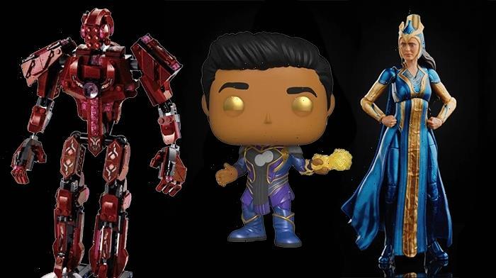 Marvel's 'Eternals' Unveils Marvel Legends Action Figures, Funko POPs, and LEGO Sets