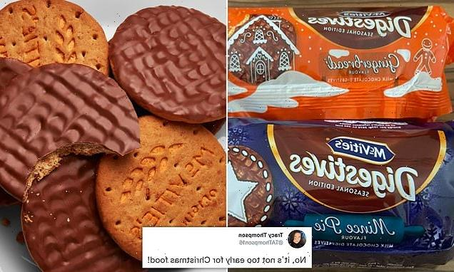McVities launch MINCE PIE flavoured chocolate digestives