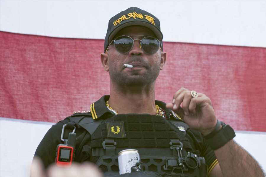 Proud Boys Leader Sentenced to Jail for Burning Church's Black Lives Matter Flag