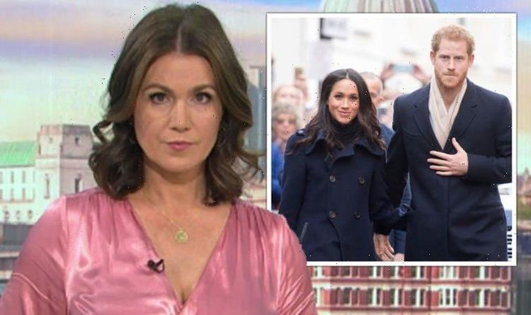 'Clearly a right to freedom of speech Susanna Reid in subtle dig at Meghan over Piers