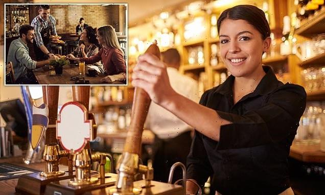 ALEX BRUMMER: Why DO young Brits think serving at pub beneath them?