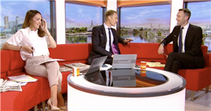 BBC Breakfasts Dan Walker hits out at Sally Nugent in Louise Minchin comparison