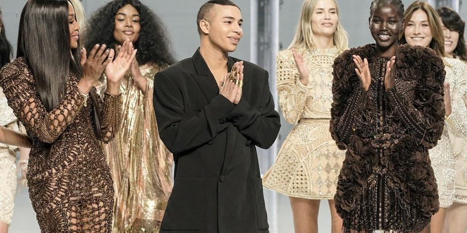 Balmain's Celebratory Spring 2022 Show Is Olivier Rousteing at His Best