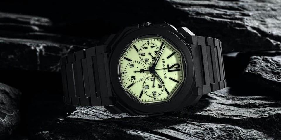 """Bvlgari Releases """"Nuclear Option"""" Octo Finissimo Ceramic Chronograph GMT for 'Revolution' and The Rake"""
