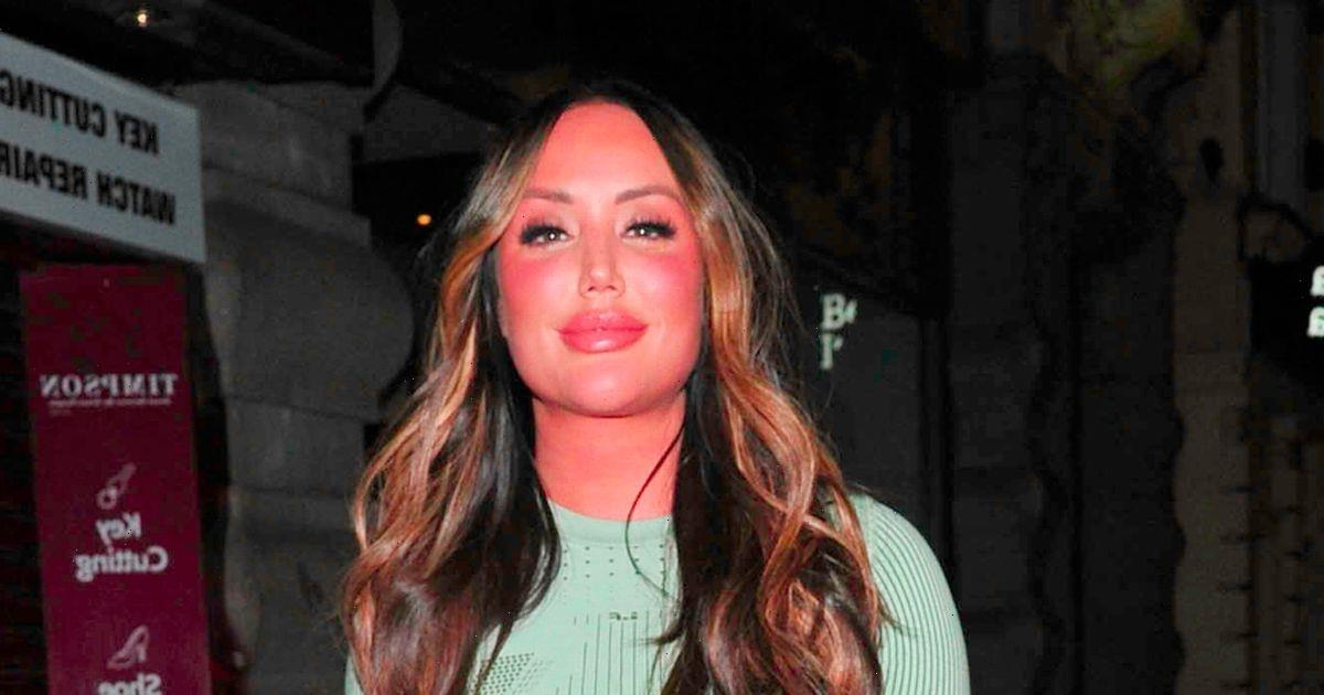 Charlotte Crosby stuns on night out in green minidress after split from boyfriend