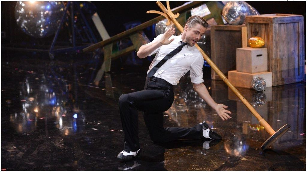 Derek Hough Spills His Secret to Juggling Both 'Dancing With the Stars' and a Vegas Show