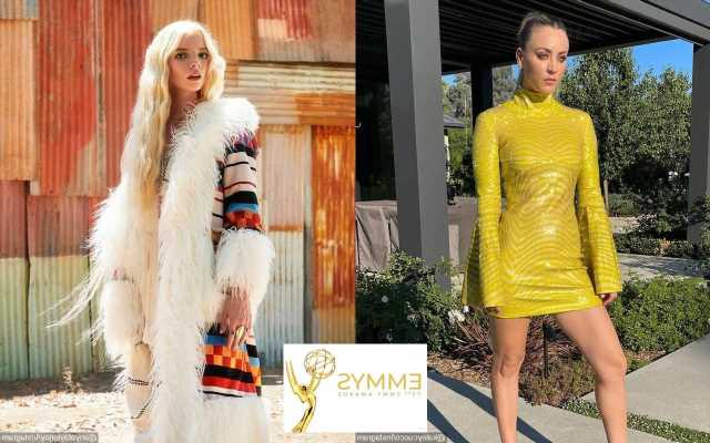 Emmys 2021: Kaley Cuoco and Anya Taylor-Joy Glow in Yellow on Red Carpet
