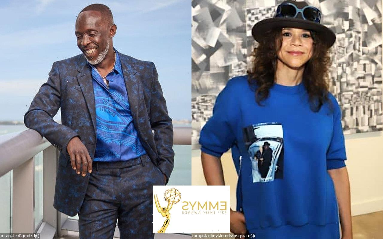 Emmys 2021: Rosie Perez Holds Back Tears While Remembering Michael K. Williams