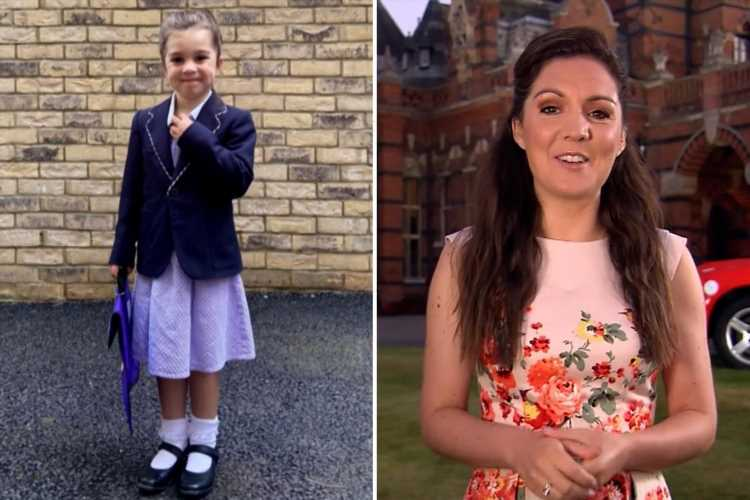 GMB's Laura Tobin gives rare personal update as she shares pride after daughter defied odds to start school this year